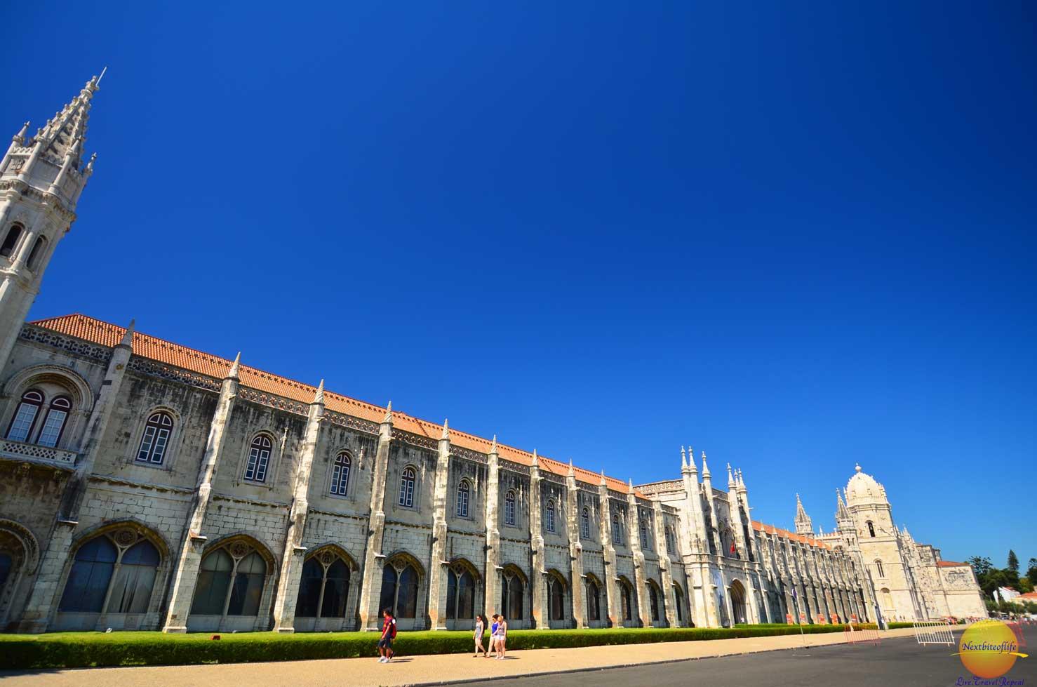 jeronimos monastery in belem portugal