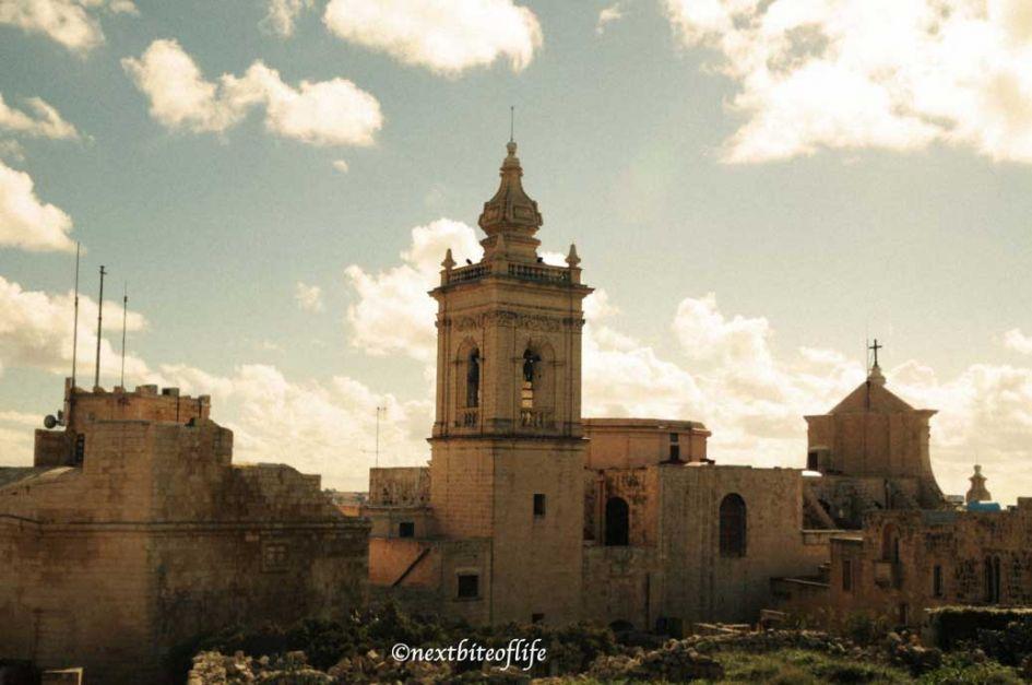 cittadella view gozo