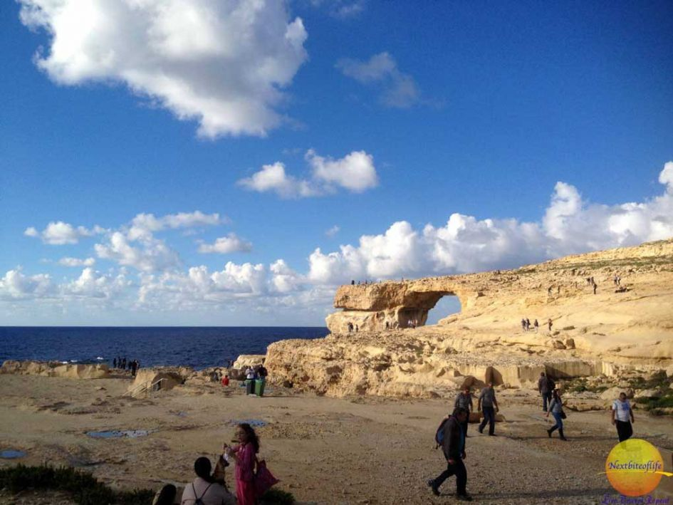 gozo day trip from malta view of the azure window