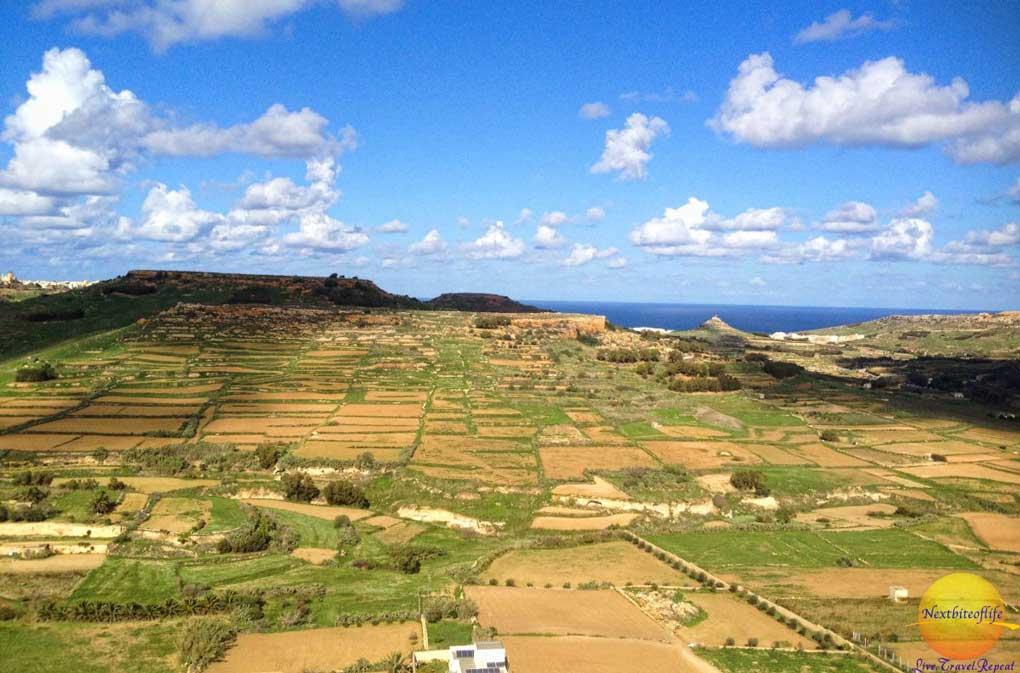 landscape of Gozo