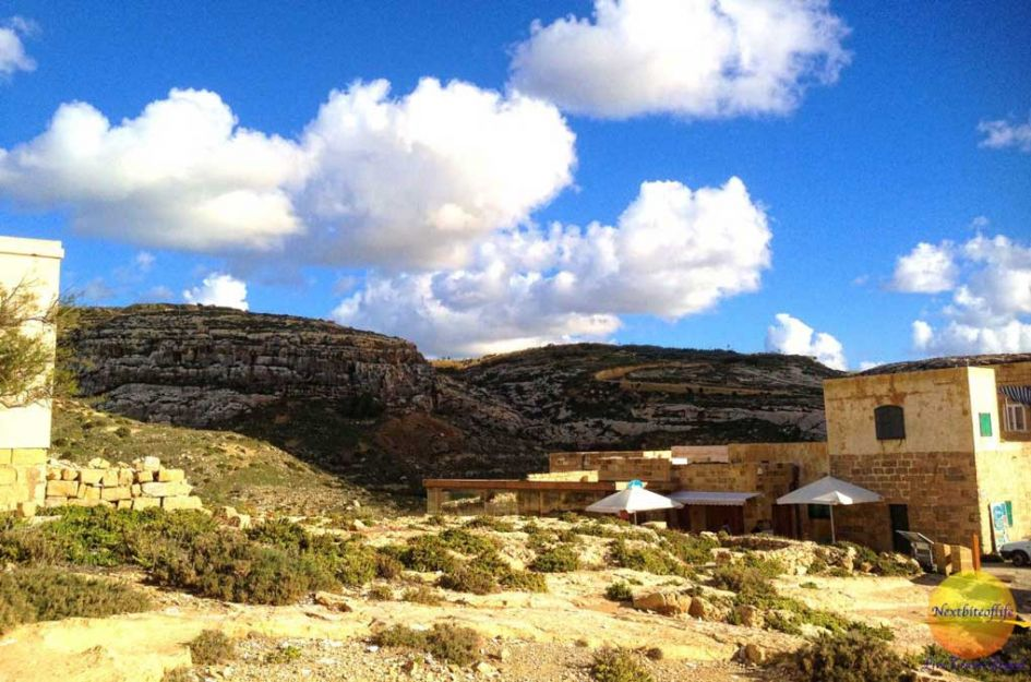 mountain view on day trip to Gozo from Malta