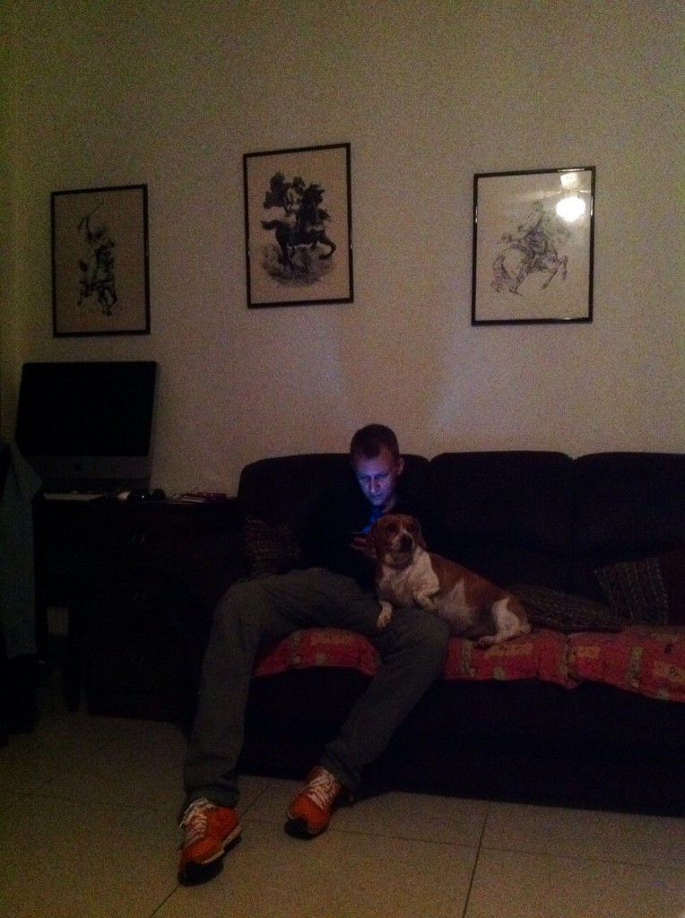Couchsurfing guest