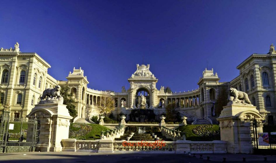 Longchamp Palace Marseille France exterior