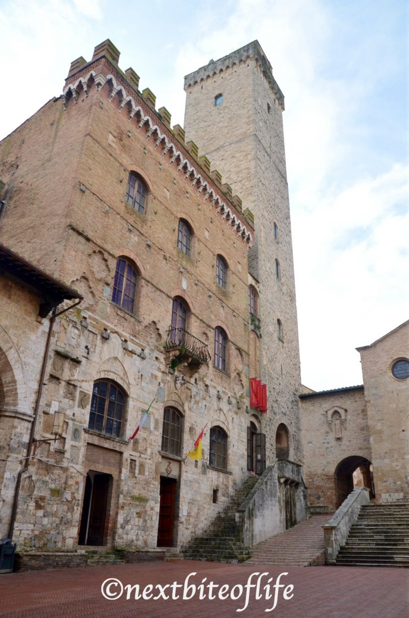 San Gimiano Italt tower