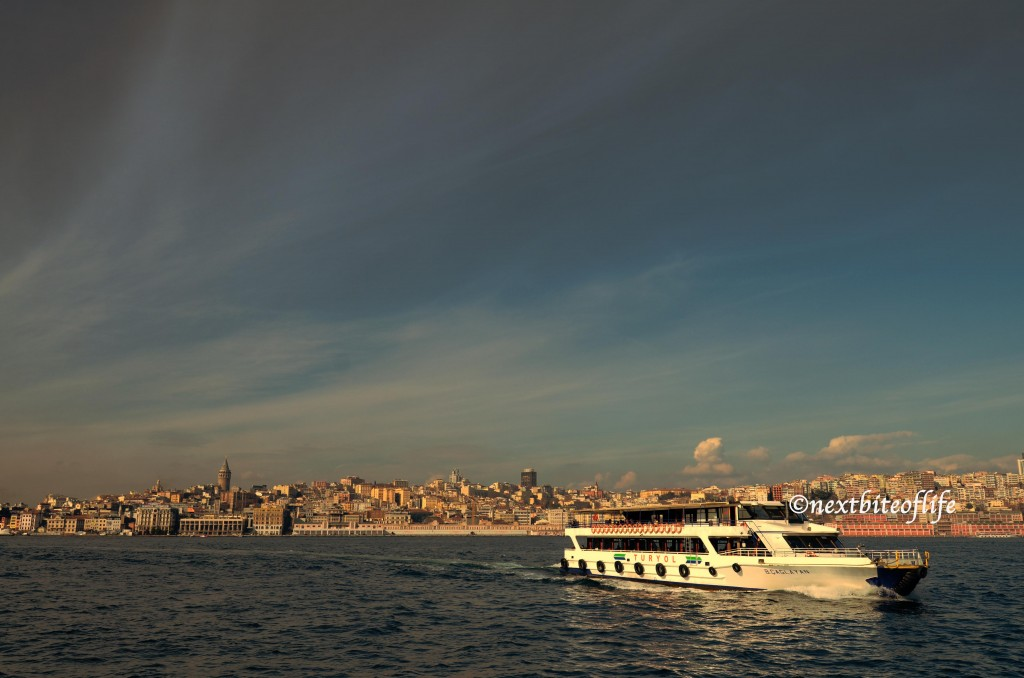 cruise on the bosphorus