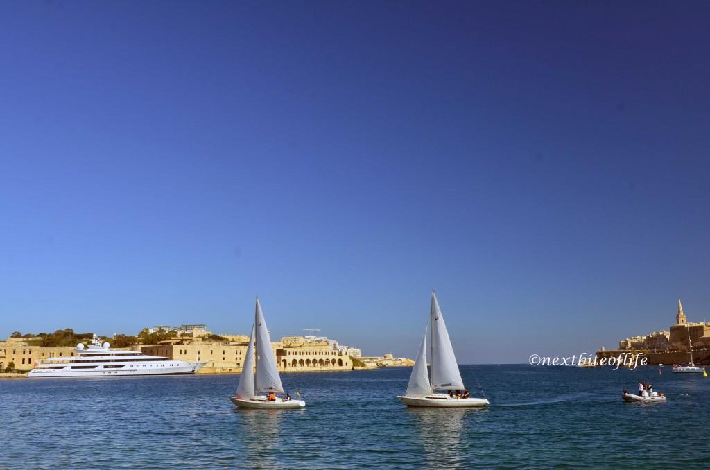beautiful sailboats malta
