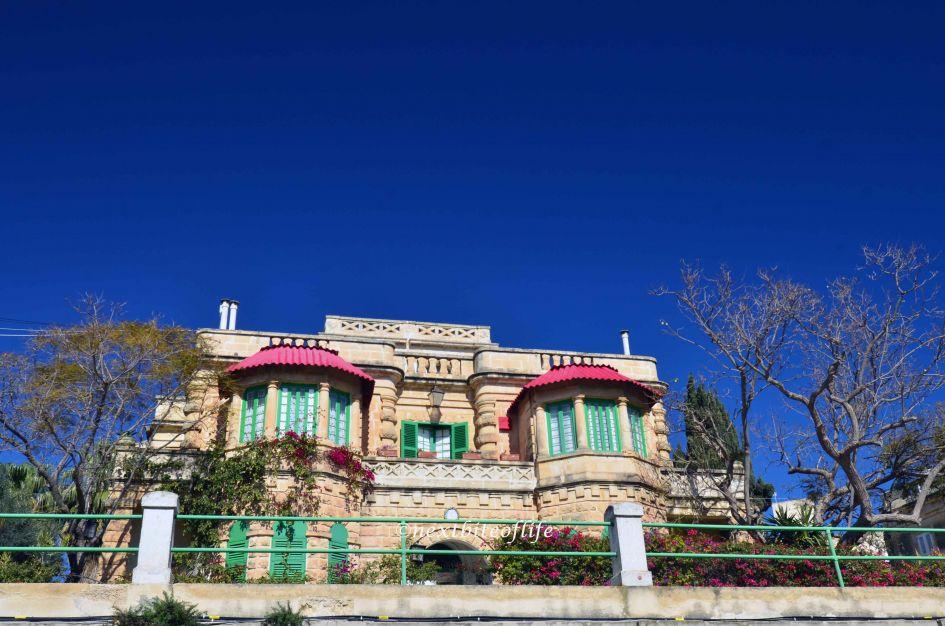 My Malta neighbourhood Msida - house on a hill in Msida Malta