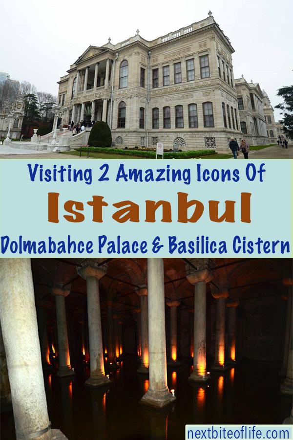 Dolmabache Palace and Basicila Cistern Visit #dolmabache #istanbul #visitistanbul #europe #basilicacistern
