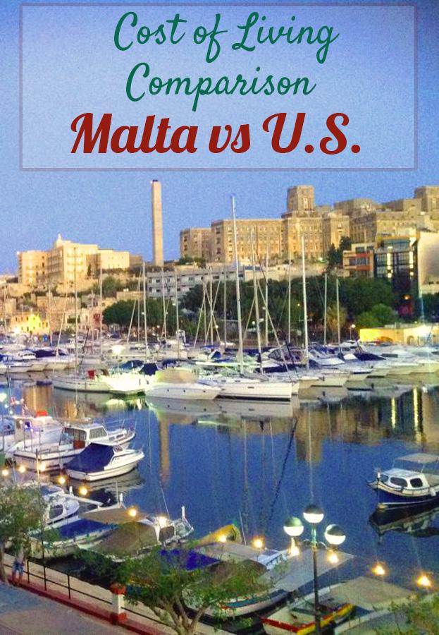 U.S vs Malta cost of living comparision #malta #america #maltavsusa #costofliving #costoflivingcomparision