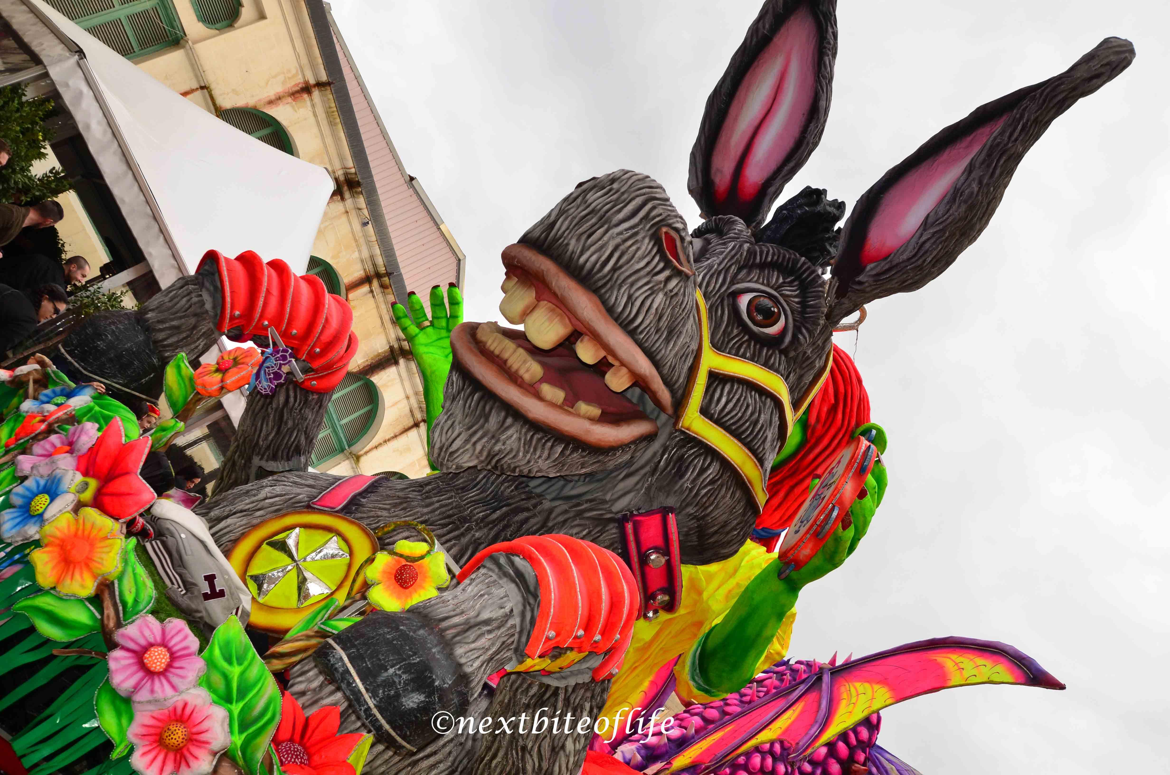Malta carnival - Shrek float.