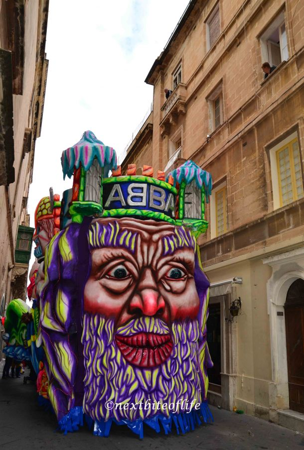 malta carnival abba float image