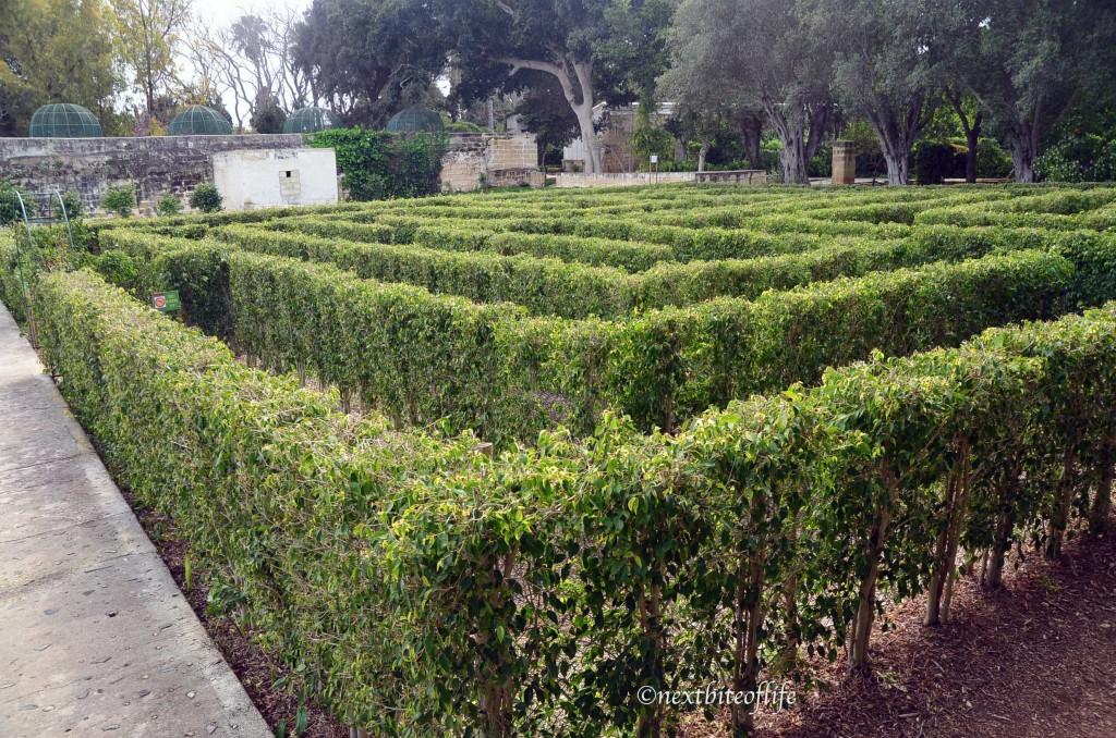 san anton gardens maze malta
