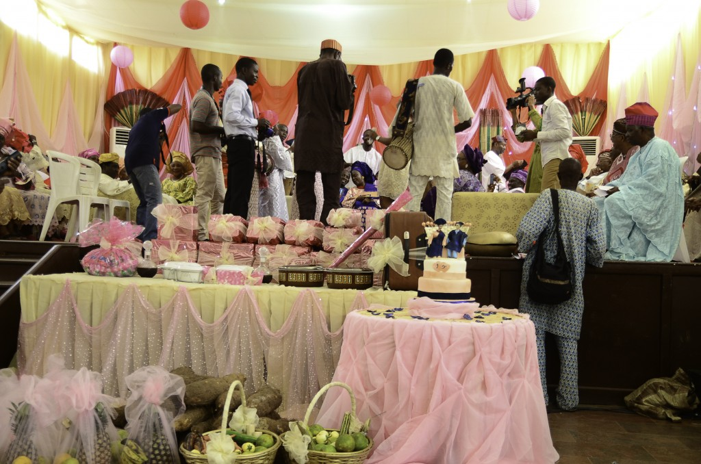 drummers at nigerian engagement