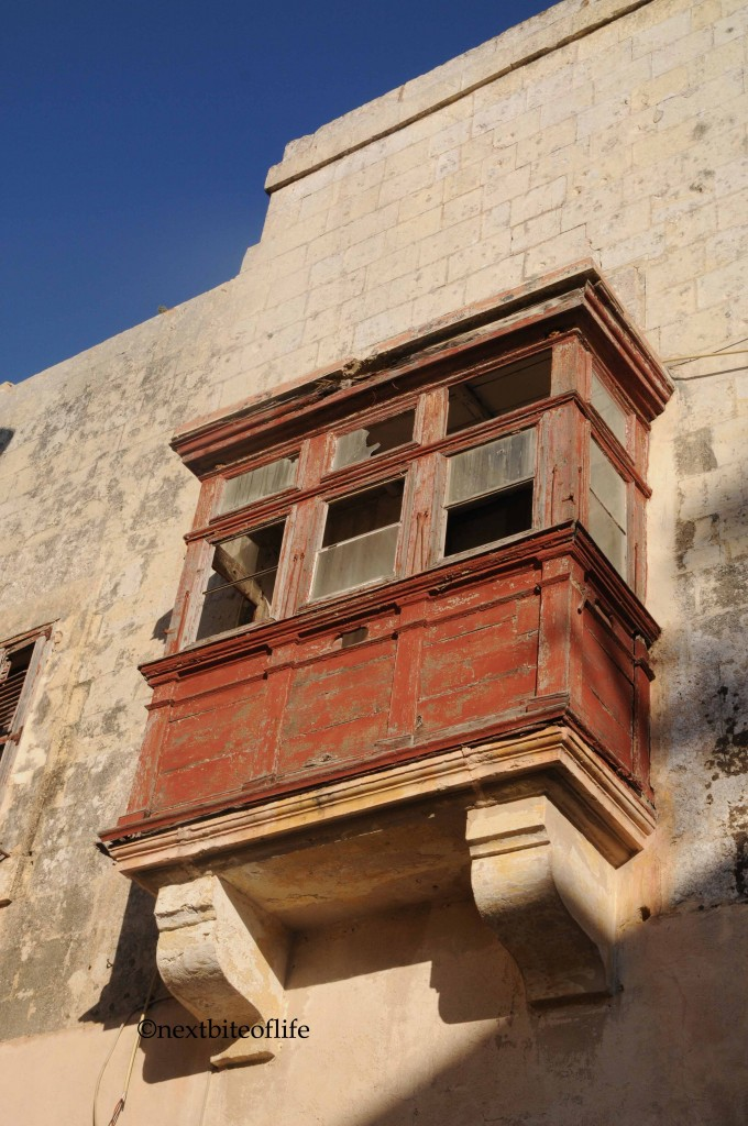 Maltese window in Mdina