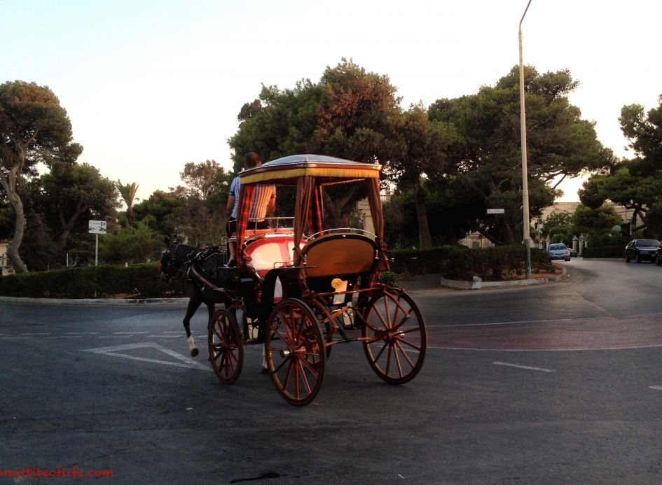 carriage in Mdina the silent city Malta