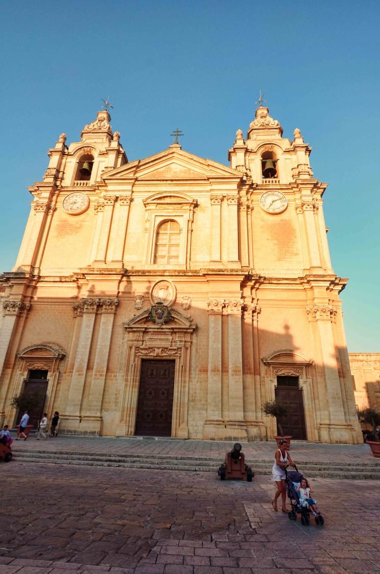 st pauls cathedral mdina