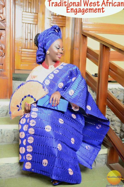 traditional west african engagement bride #engagedbride #nigerianengagement #nigerianbride #naijabridenative
