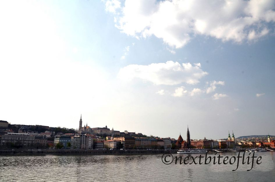 views from the Danube river in Budapest in 4 days Budapest itinerary