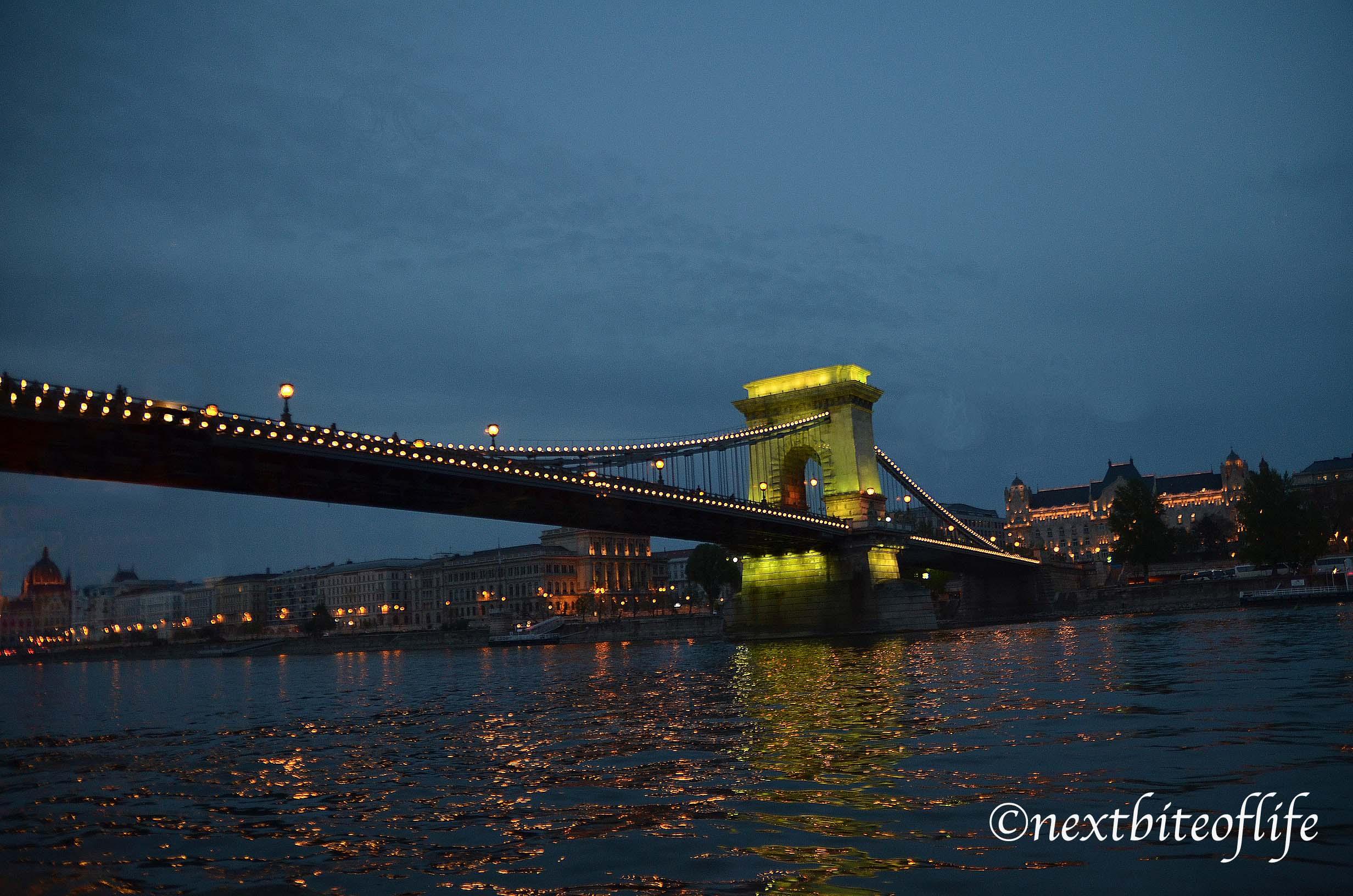 chain bridge view budapest costs