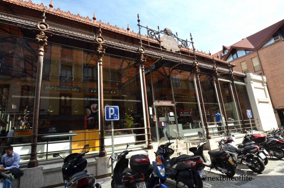 Madrid : Mercado de San Miguel