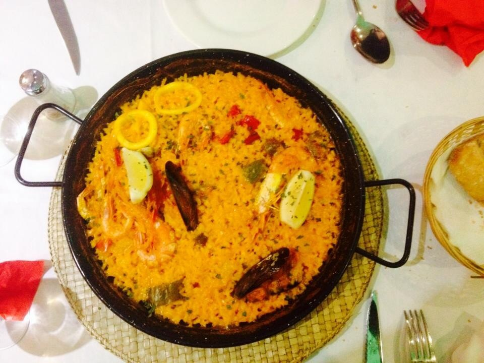 things are looking up in malaga paella