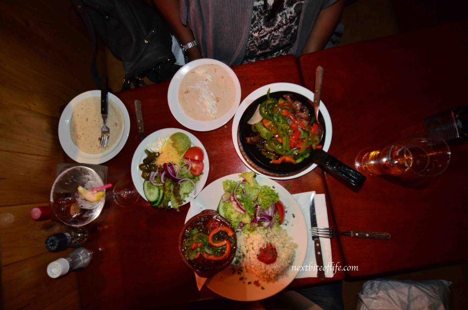 mexican platter in amsterdam restaurant