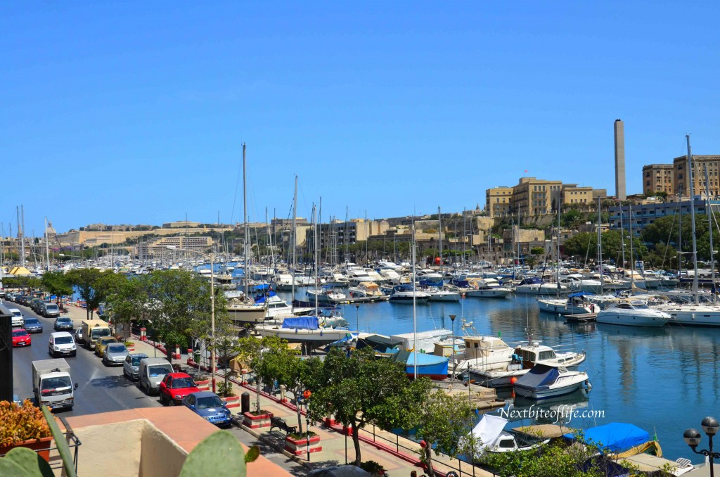 Msida Marina summer view
