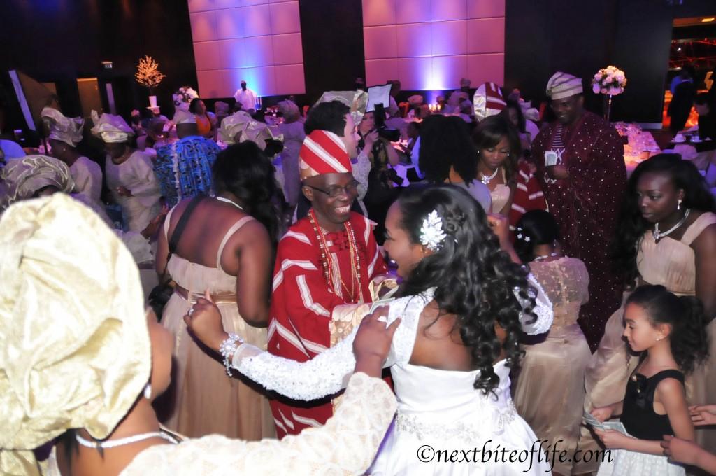 bride dancing London wedding