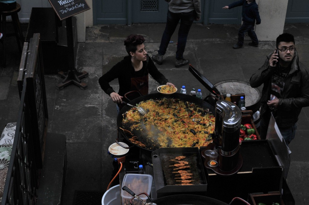 covent garden paella