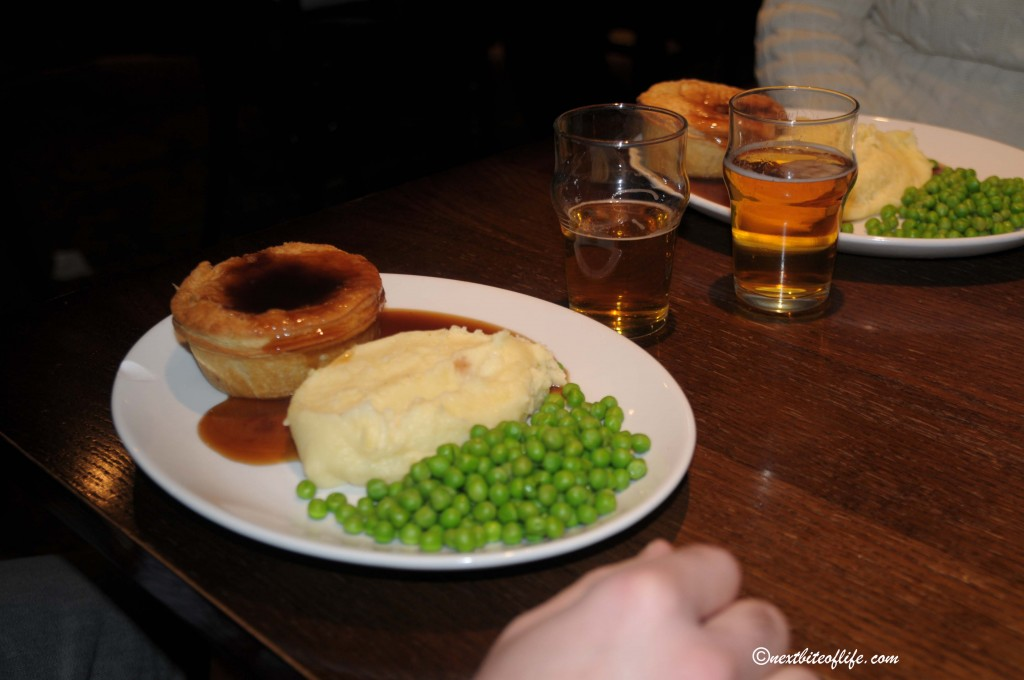 Typical British Pub fare