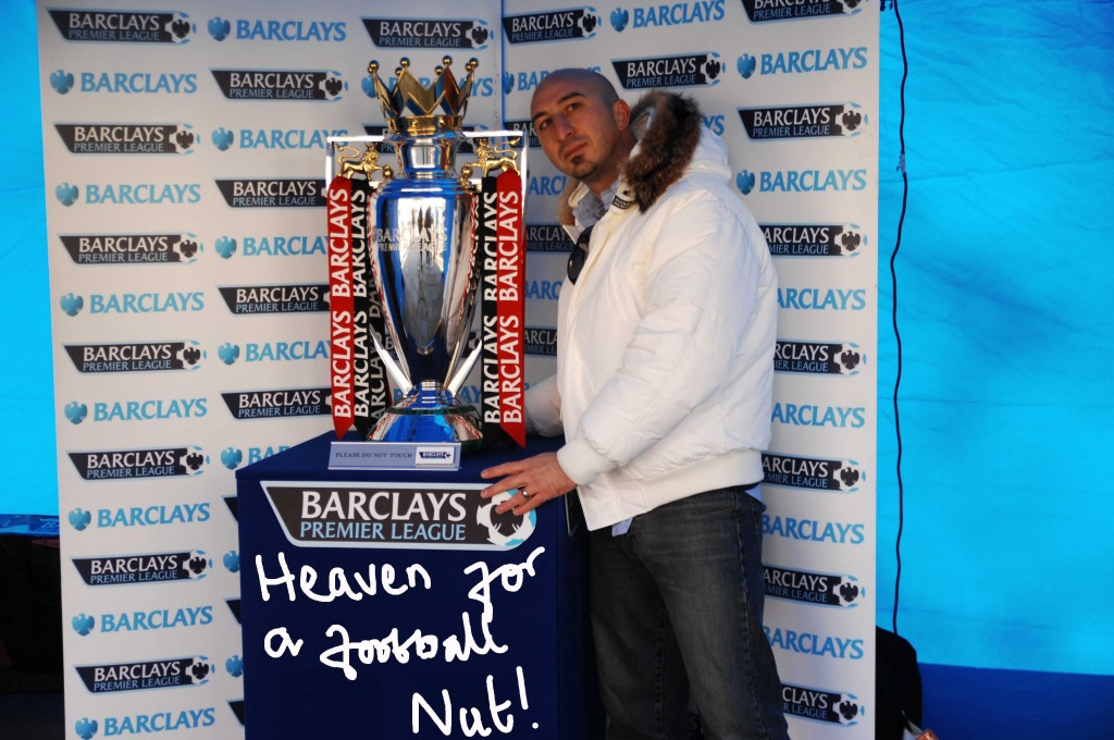 Barclays Premier cup pic with Fede
