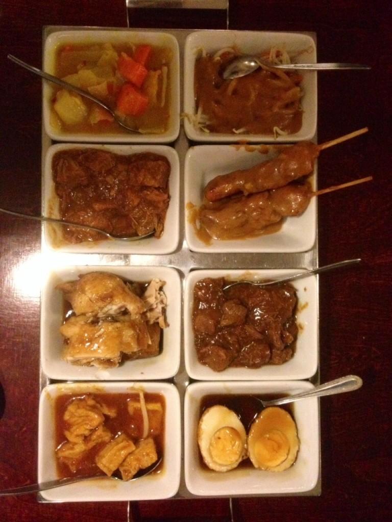 Yummy Indonesian food - Rijstafel