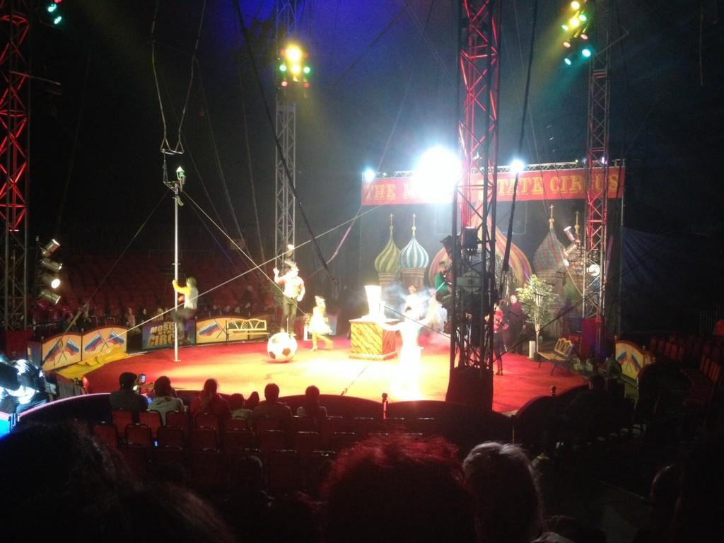 moscow circus acrobats