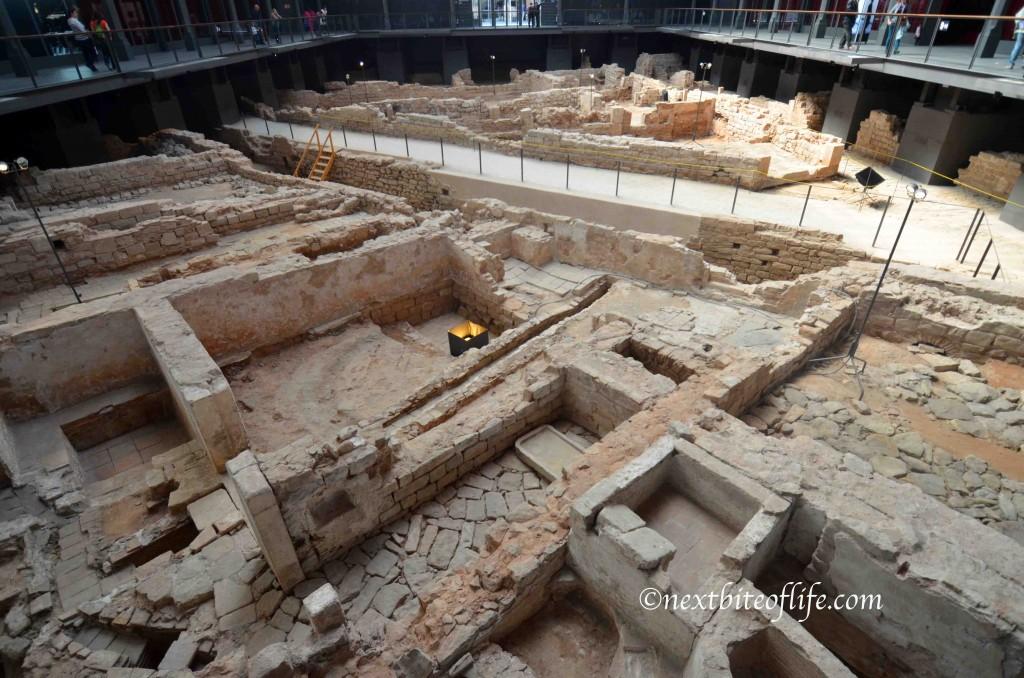 ruins at el born cc barcelona