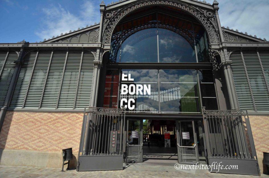 Barcelona El Born CC Roman ruins