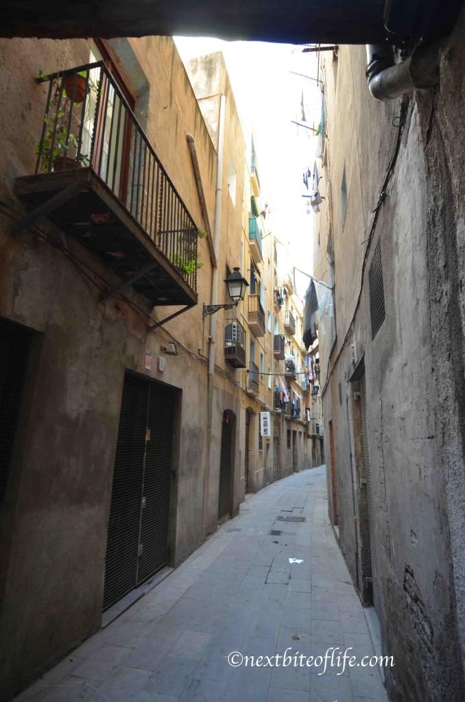 el born barcelona street
