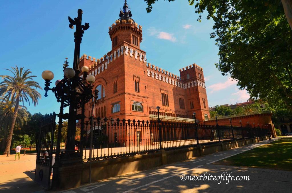 el born barcelona building