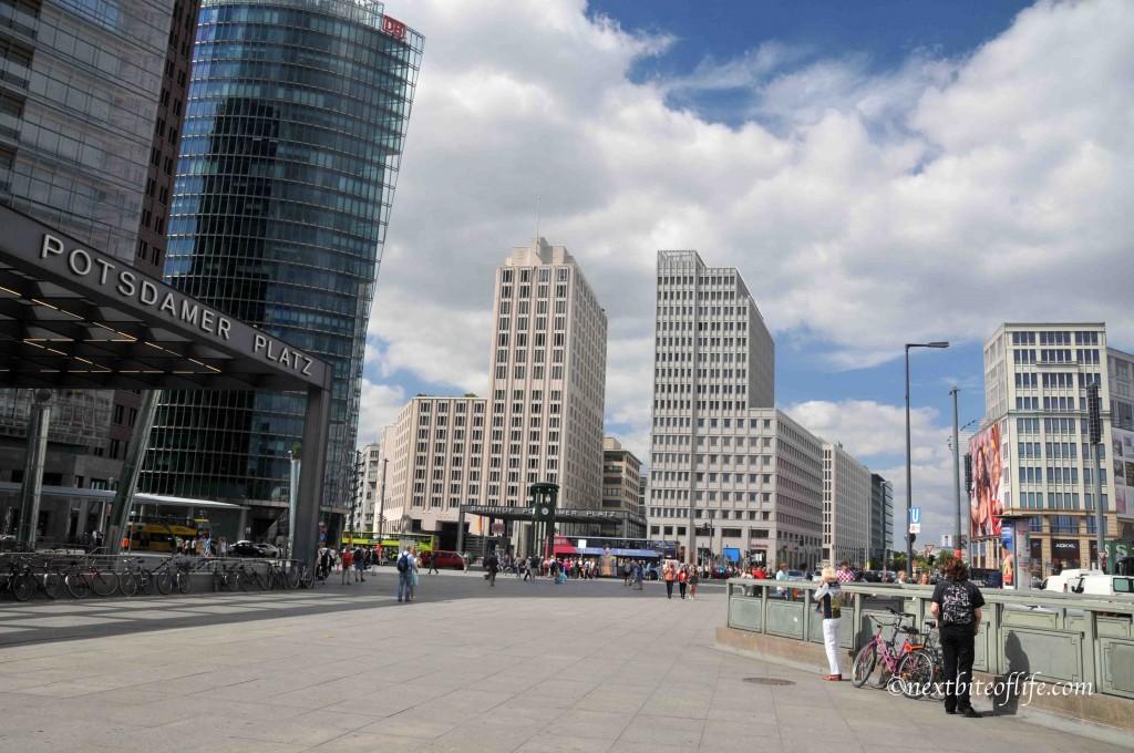 Potsdamerplatz. Lovely area!