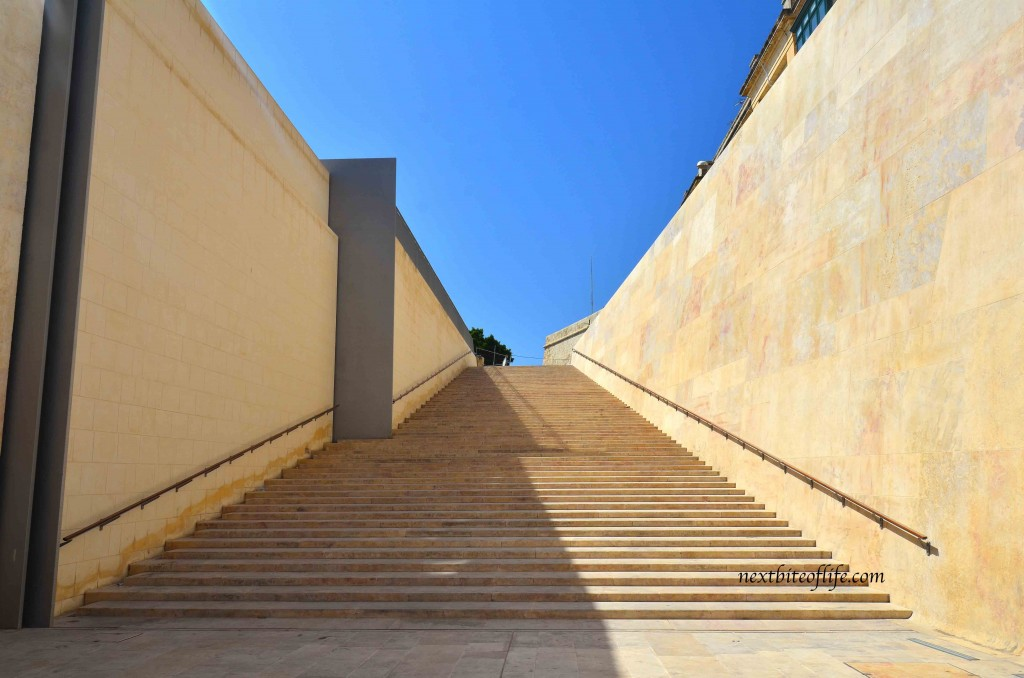 valletta version of spanish steps