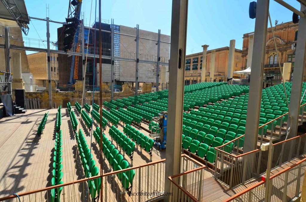 Open Air Concert Hall in La Valletta Malta