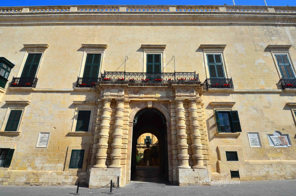 government building in valletta malta