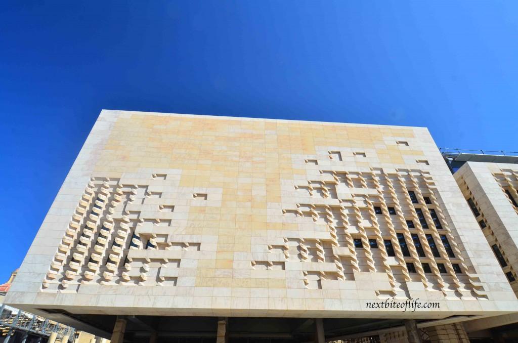 new building in valletta malta