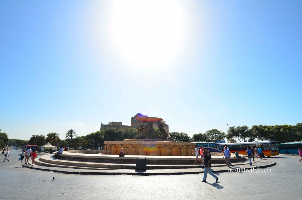Valletta Fountain entrance