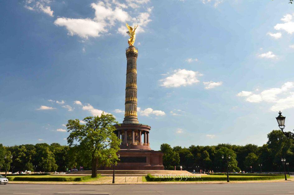 Berlin circular road rotunda with gold emblem on top berlin carnival of culture post