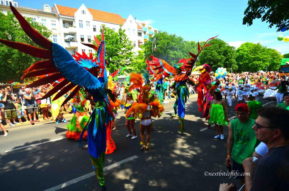 Carnival of culture float Berlin