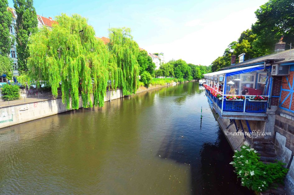 berlin canal view