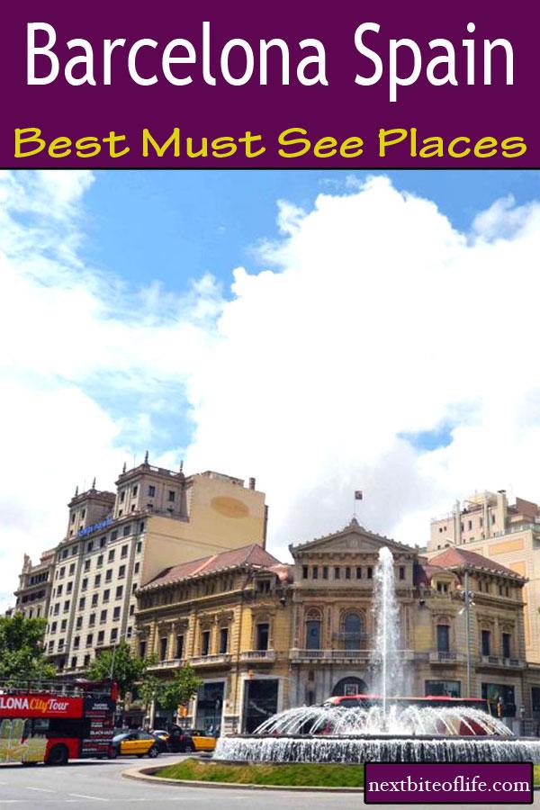 Barcelona Spain Best Must See Places #barcelona #sagradafamilia #larambla #mustseebarcelona #barcelonaguide #visitbarcelona
