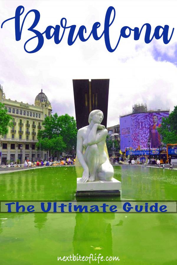 Barcelona Ultimate Travel Guide #barcelona #spain #visitbarcelona #barcelonaitinerary #bestofbarcelona