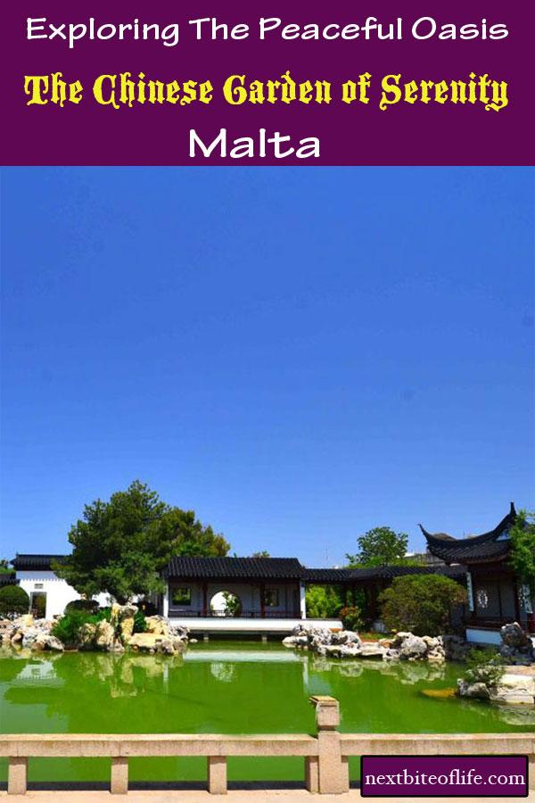 Chinese Garden of Serentiy #Malta #visitmalta #chinesegarden #stlujiamalta #maltamustsee #maltaguide