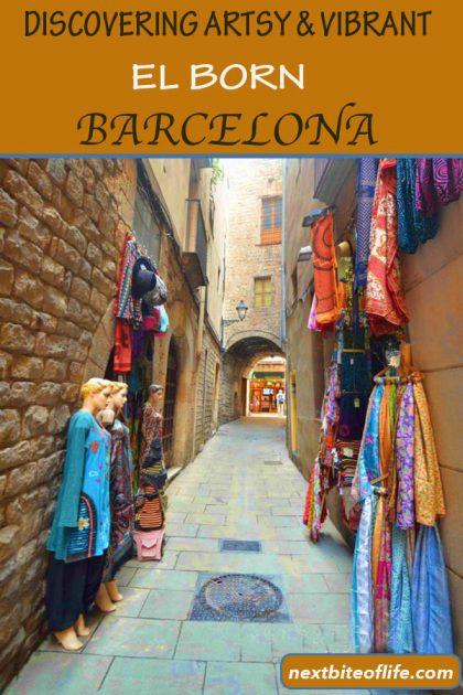 Barcelona El Born Barrio Discovery #Barcelona #elbornbarrio #elbornbarcelona #artsybarcelona #barcelonafood #visitbarcelona #elbornculturecenter #pablopicassomuseumbarcelona